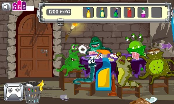 chơi game công chúa Juliet thoát khỏi ống cống