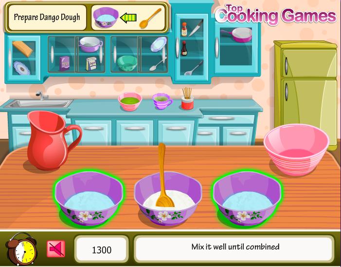 chơi game bánh trôi nước