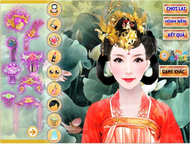 game Trang điểm Võ Tắc Thiên