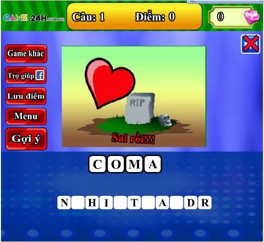 chơi Game đoán hình bắt chữ