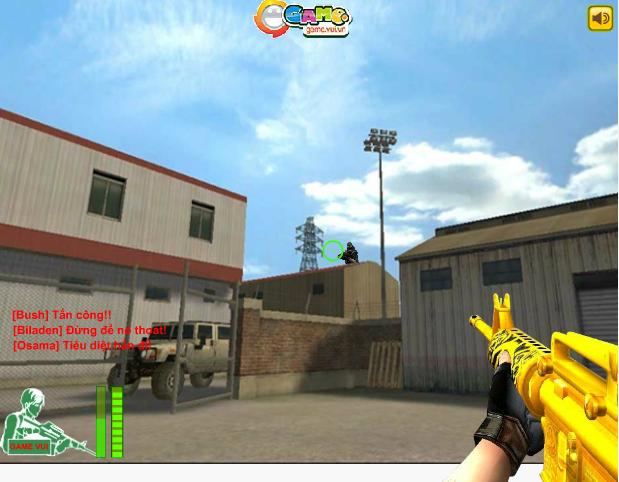 chơi game đột kích súng vàng