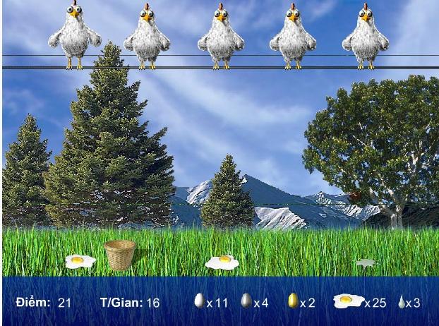 chơi game gà đẻ trứng vàng