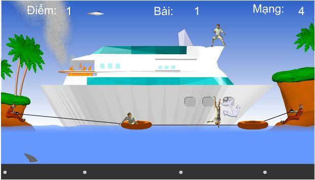 Game giải cứu thủy thủ đoàn