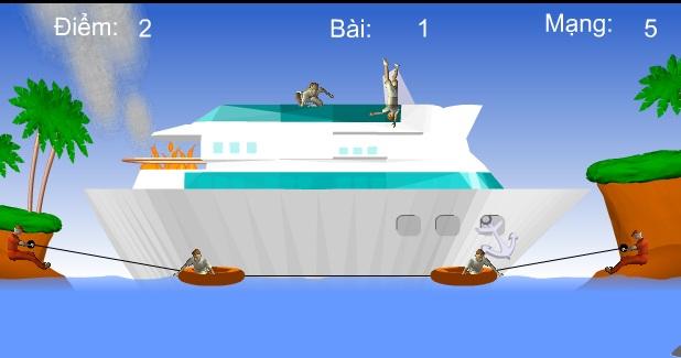 chơi game giải cứu thủy thủ đoàn