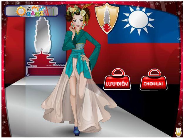 chơi game người mẫu thế giới