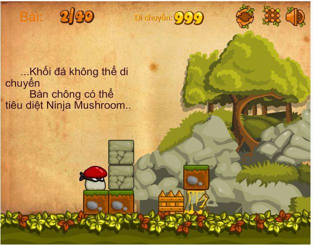 Chơi game Ninja nấm