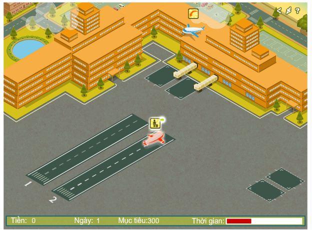 chơi game quản lý sân bay