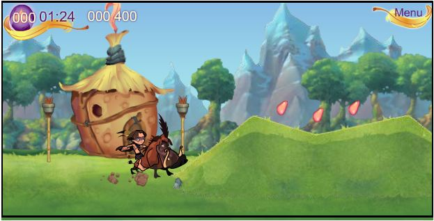 game Taczan đi tìm đá mặt trăng