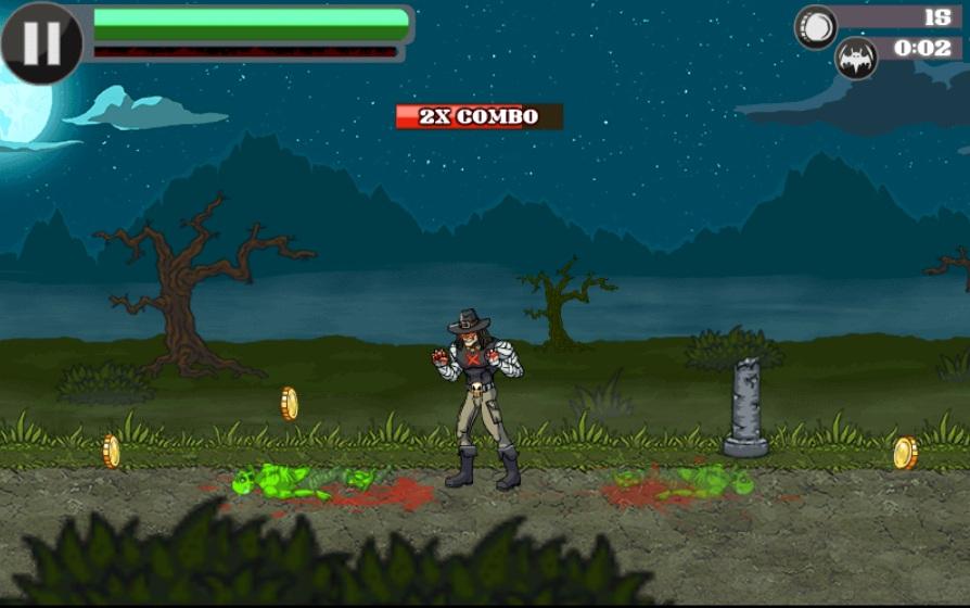 chơi game dũng sĩ diệt zombie