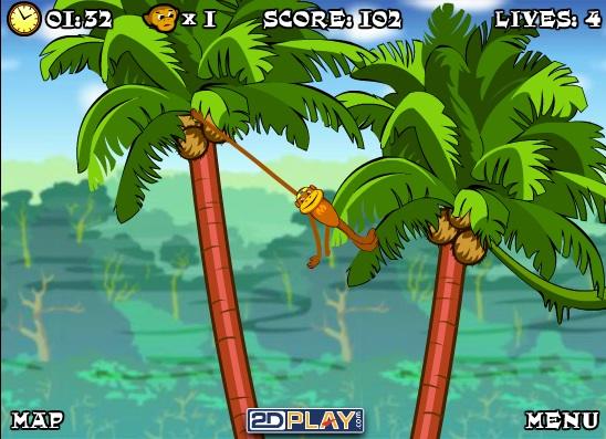 chơi game khỉ nhện