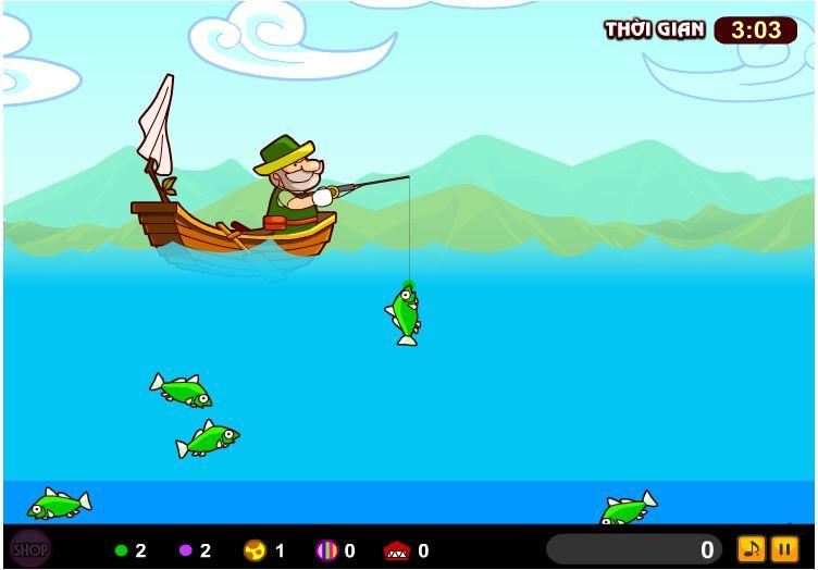 chơi game ông lão câu cá