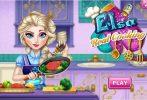 Game Elsa nấu ăn