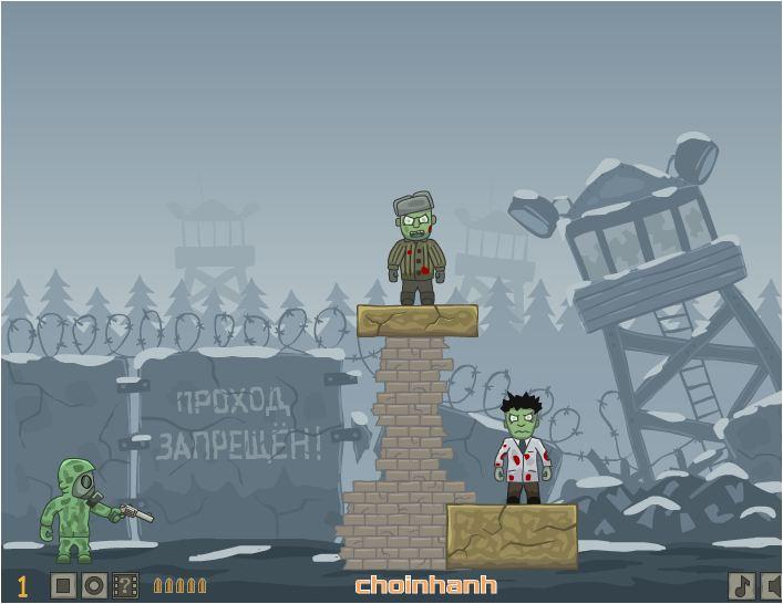 game bắn súng diệt zombie 2