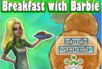 Game Barbie làm bữa sáng