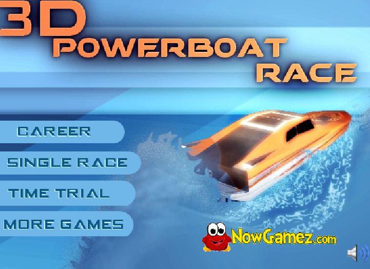 đua thuyền 3D