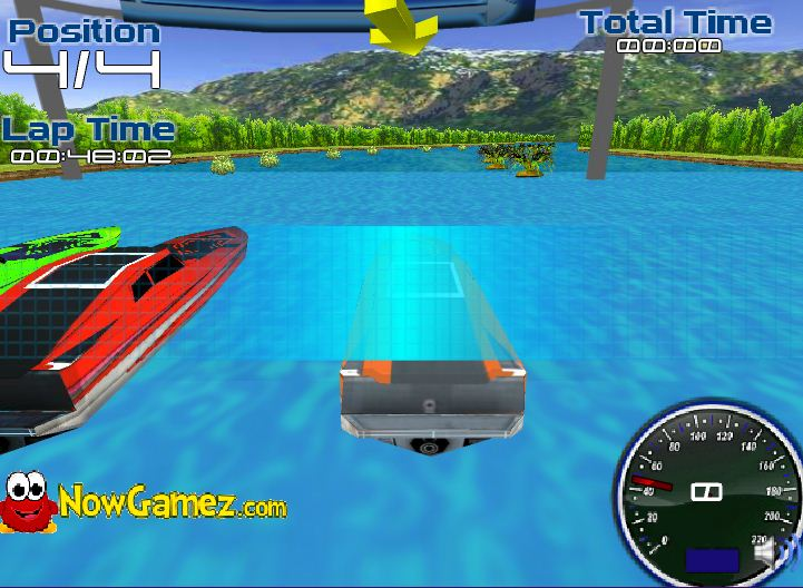 game đua thuyền 3D