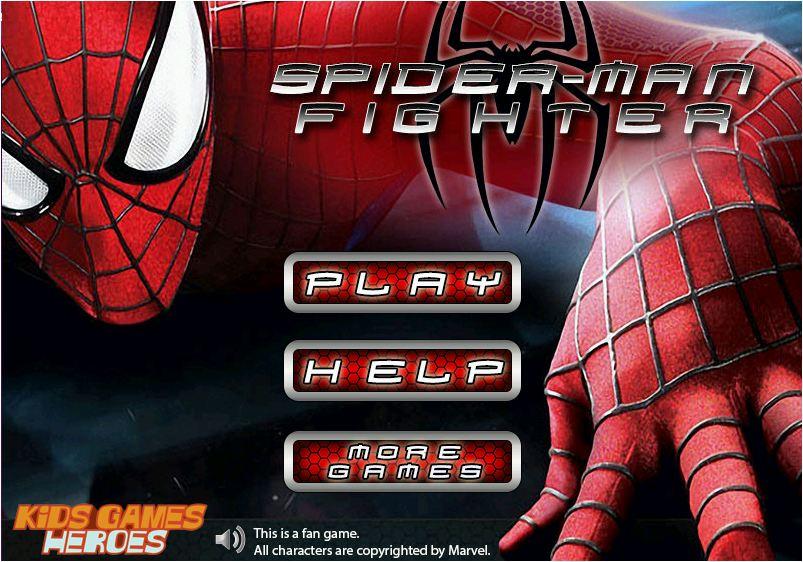 người nhện đánh nhau