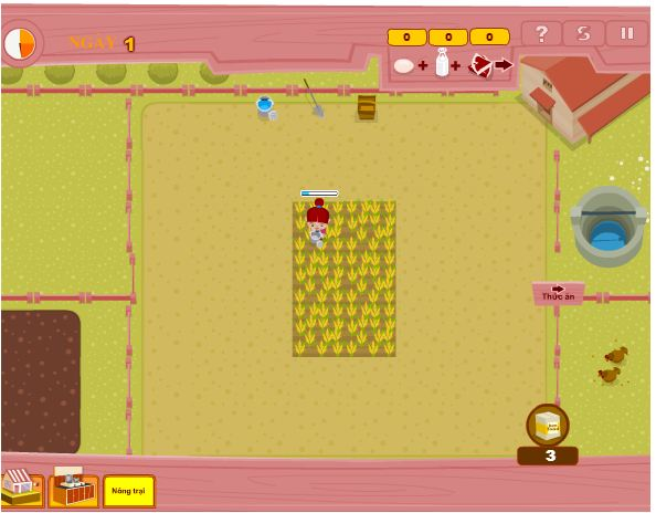 chơi game tập làm nông dân
