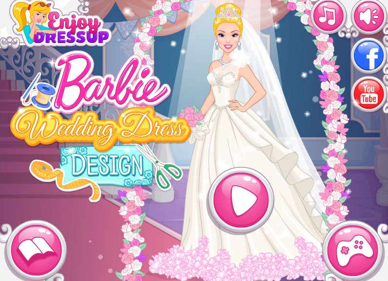 thiết kế váy cưới Barbie
