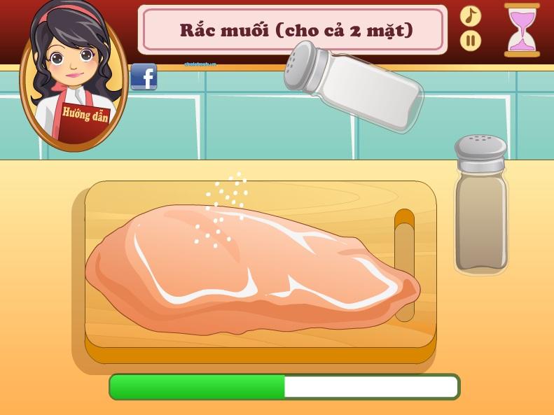 chơi game thịt gà nướng sốt