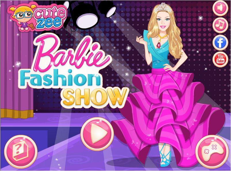 game Barbie Fashion Show