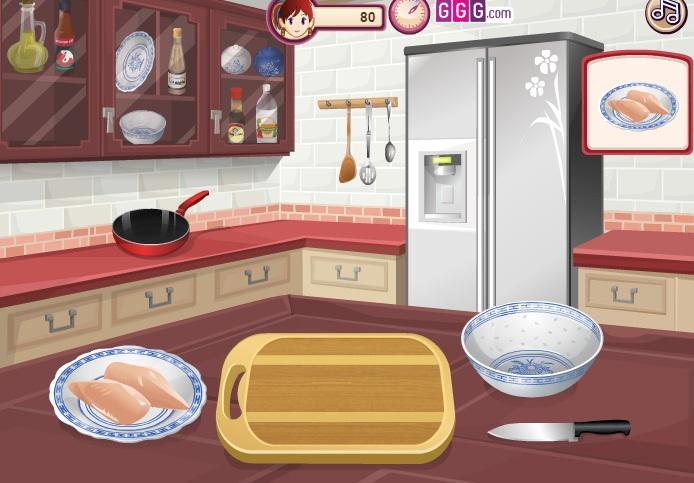 game làm gà Kung Pao