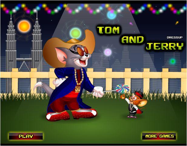 chơi game thời trang Tom và Jerry