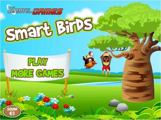 chơi game bầy chim thông minh