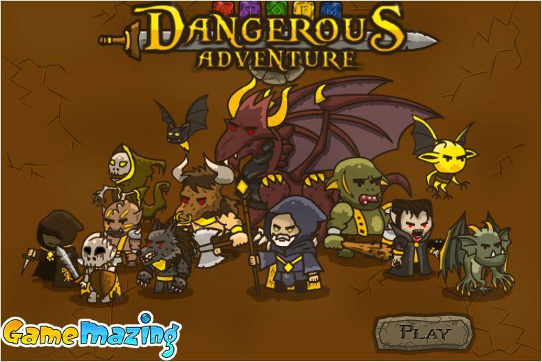 chơi game cuộc phiêu lưu nguy hiểm