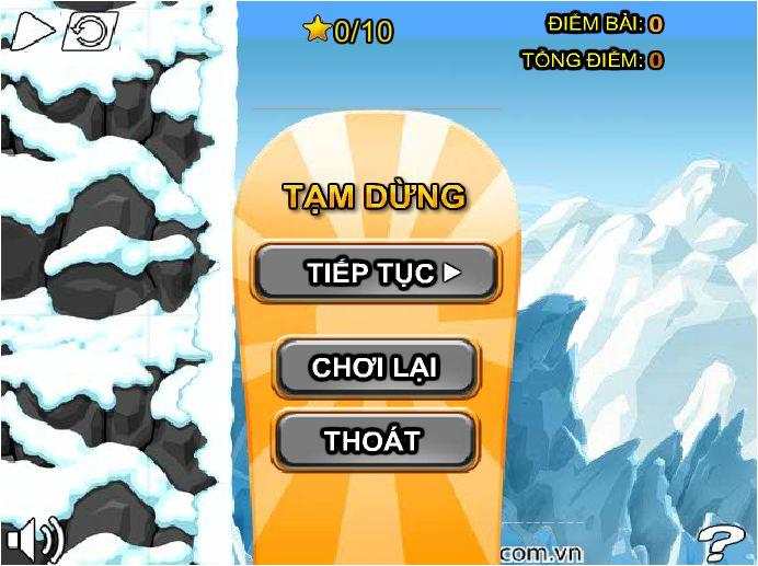chơi game siêu sao trược tuyết 3
