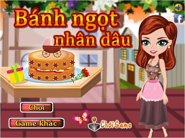 chơi game bánh ngọt nhân dâu