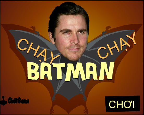 chơi game Batman chạy