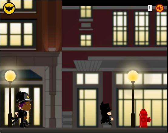 game Batman chạy