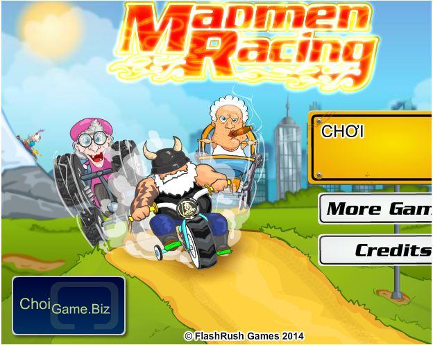 chơi game hội điên đua xe