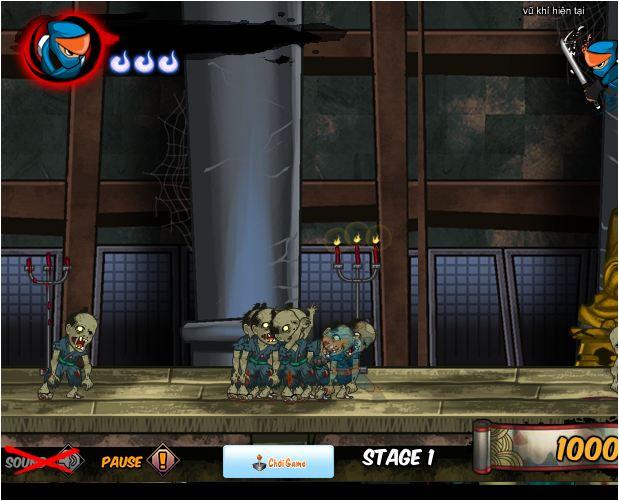 Ninja diệt Zombie