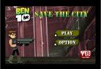 Game Ben 10 phiêu lưu thành phố