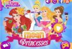 Game Công chúa Disney xấu tính