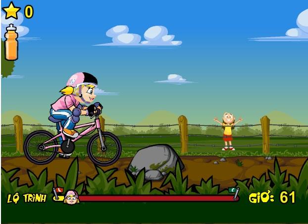 xe đạp băng đồng