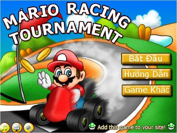 chơi game Mario đua xe phiêu lưu