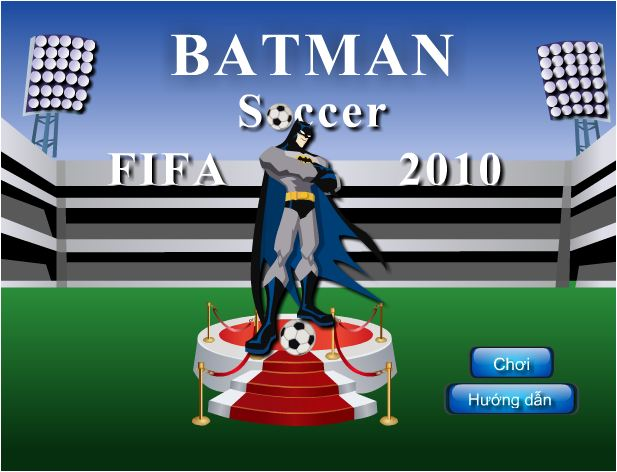 chơi game Batman đá bóng