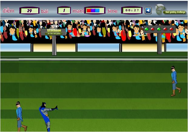 game Batman đá bóng