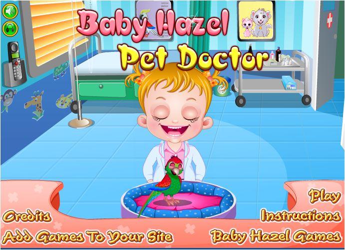 chơi game bác sĩ thú cưng