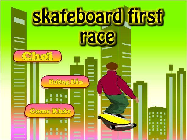 chơi game trượt ván đường phố