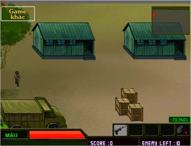 game đột kích căn cứ