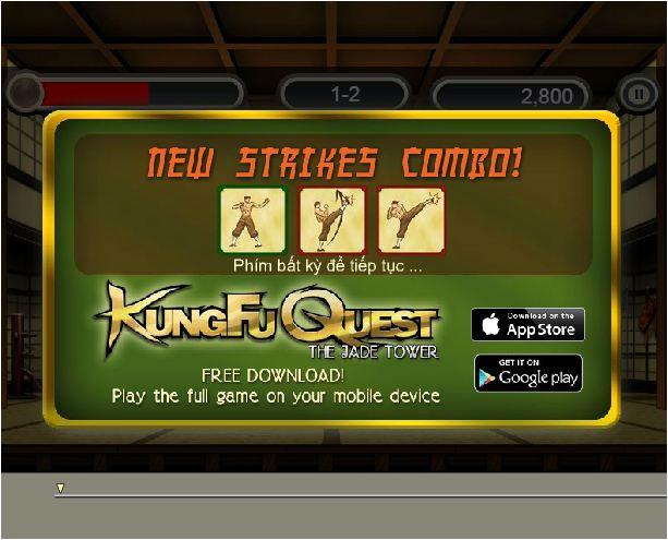 Kungfu phiêu lưu tháp ngọc