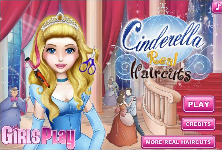 chơi game làm tóc cho công chúa