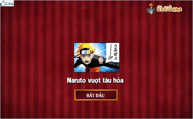 chơi game Naruto vượt tàu hỏa