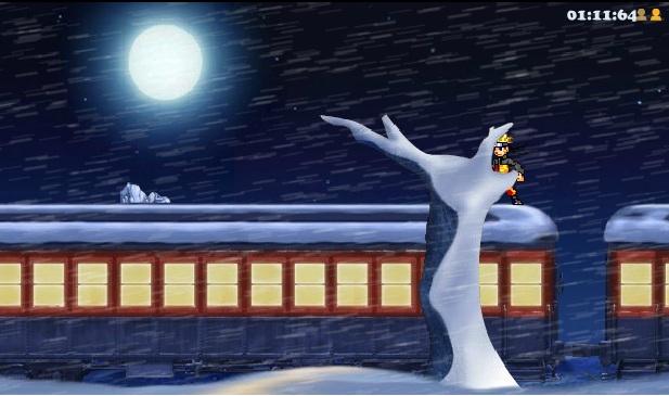 Naruto vượt tàu hỏa
