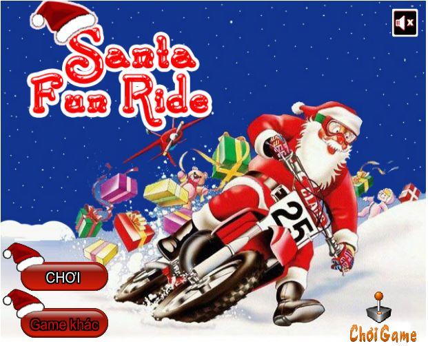 chơi game ông già Noel đua xe
