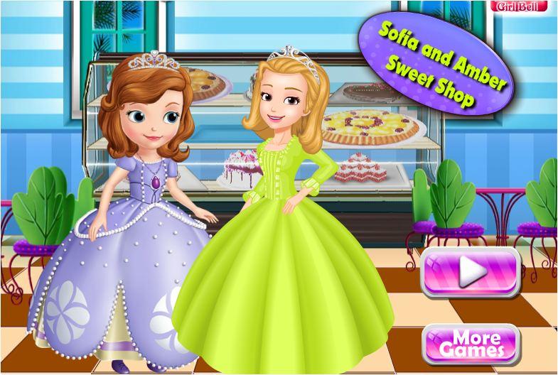 chơi game Sofia làm bánh